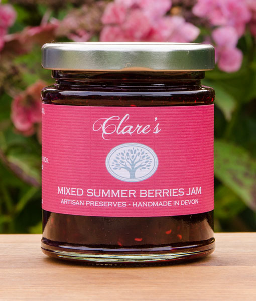 Mixed Summer Berries Jam