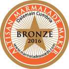 Dalemain Marmalade Awards - Bronze 2016
