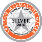 Dalemain Marmalade Awards - Silver 2016