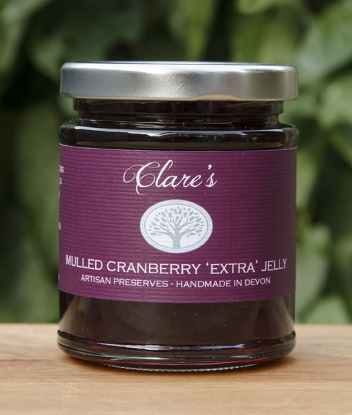 "Mulled Cranberry ""Extra"" Jelly"