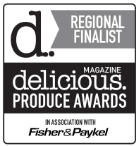Delicious magazine regional finalist 2017