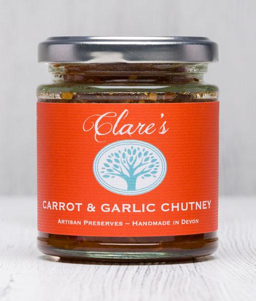 Carrot & Garlic Chutney