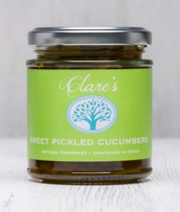 Sweet Pickled Cucumbers