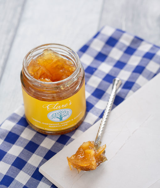 Lemon, Dartmoor Honey and Ginger Marmalade