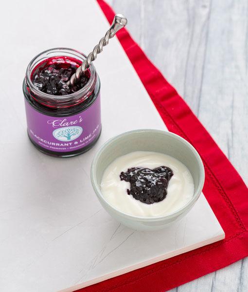 Blackcurrant & Lime Jam